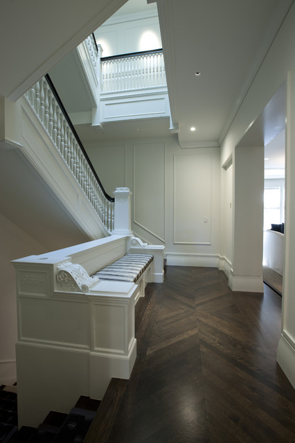 Stairway contemporary-hall