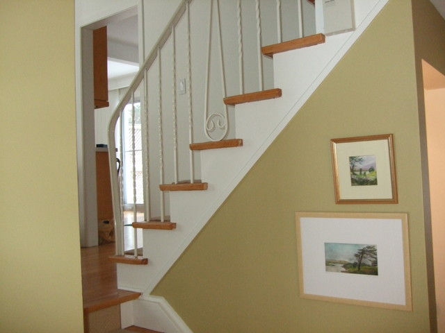 Stairway update eclectic-hall