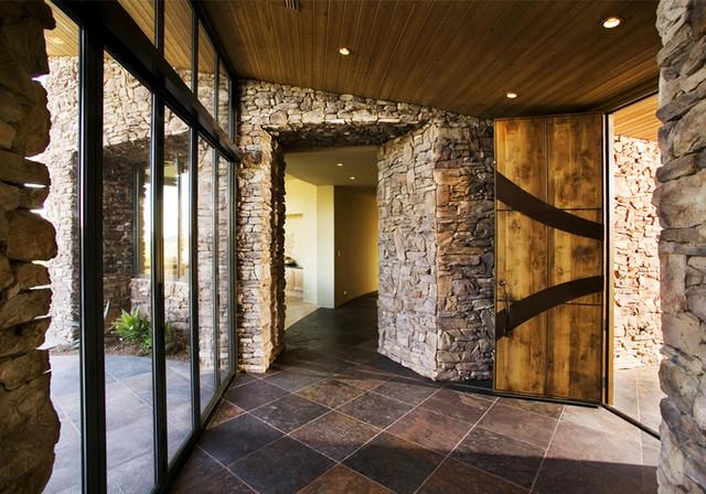 Stone Canyon Home IV contemporary-hall