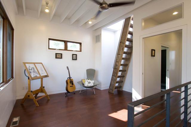 Study/Music Room modern-hall