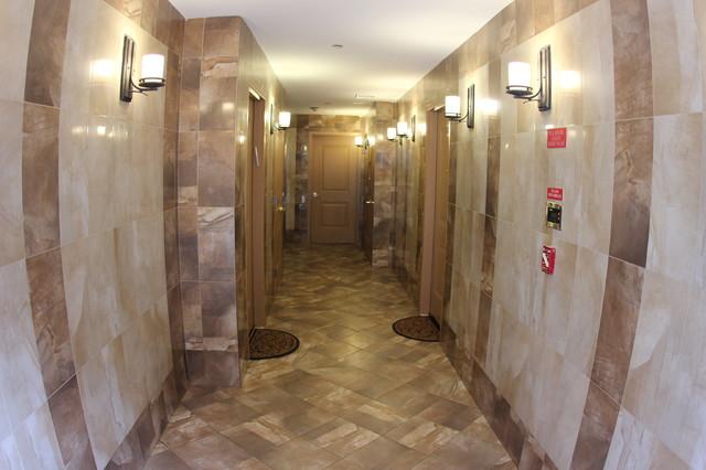 stunning hallway contemporary-hall