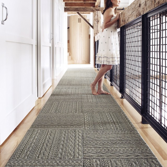 Sweater Weather Modern Hall Chicago By Flor Carpet Design Marvellous Tiles Lowes