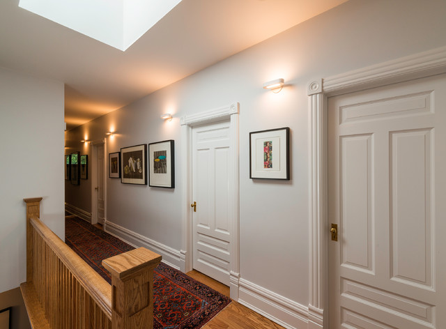 Bathroom wall decor for kids - Talo Halogen Mini 21 Wall Light By Artemide Transitional Hall
