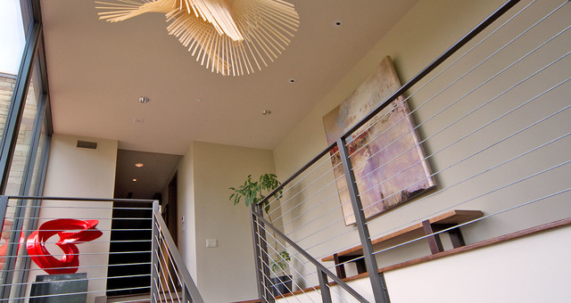Taylor Residence contemporary-hall
