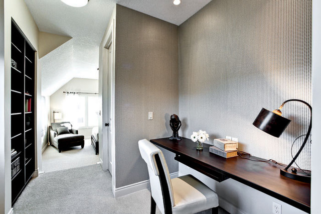 The Cambrian IV Showhome in Calgary, AB contemporary-hall
