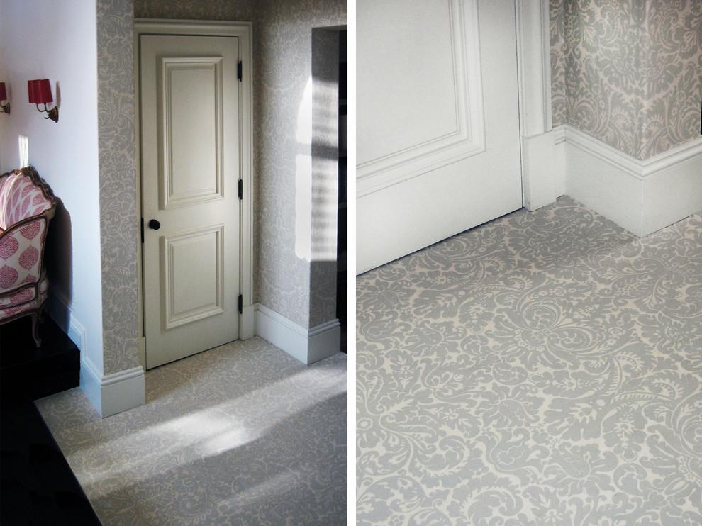 Hallway - transitional hallway idea in Other