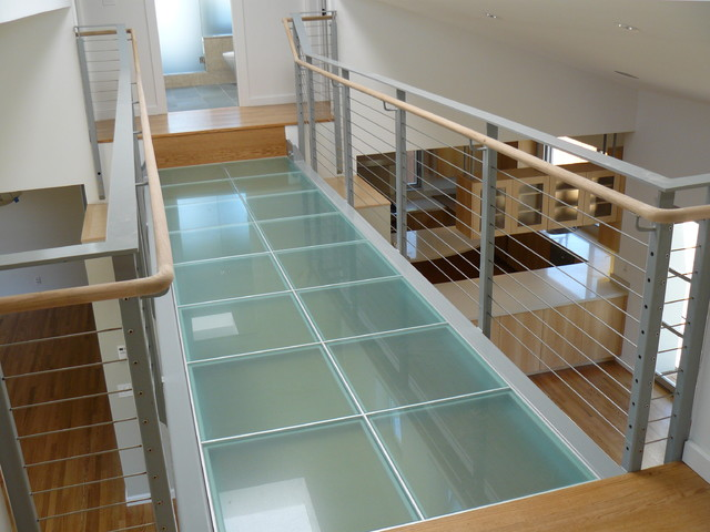 The Glass Bridge Residence Contemporary Hall San