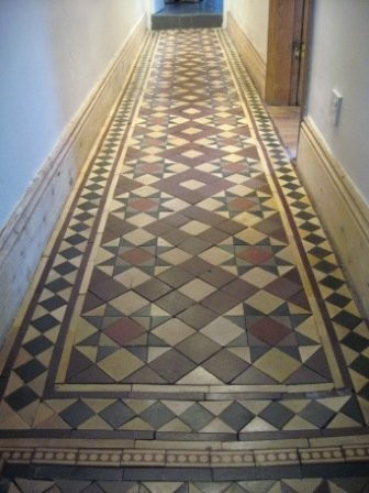 The Vintage Floor Tile Company Launch - Traditional - Hallway ...