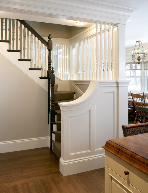 This Old House Stair traditional hall