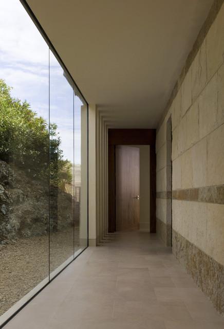 Tiburon Residence - with SF Bay view modern-hall