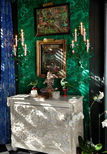Tony Duquette's Dawnridge eclectic-hall