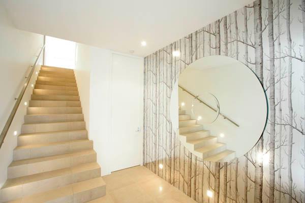 Toorak Home contemporary-hall