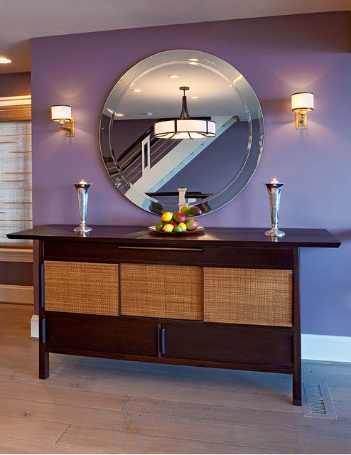 Townhouse contemporary-hall