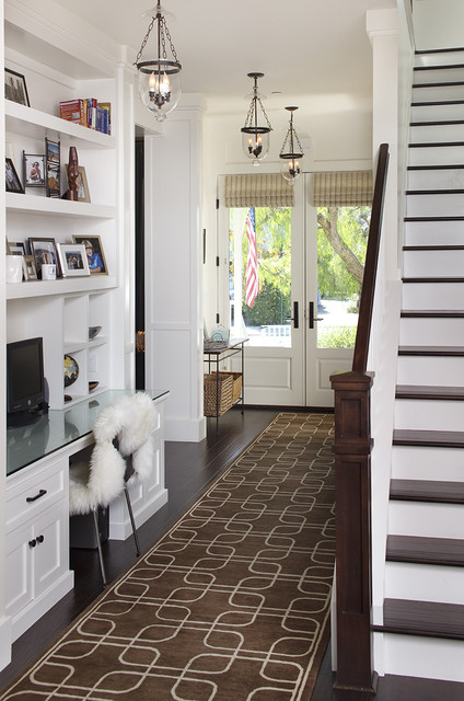 "Mill Valley ""home Sweet home"" traditional-hall"