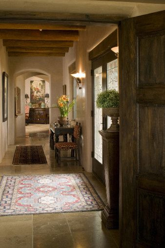 Traditional Santa Fe Style Home traditional dining room