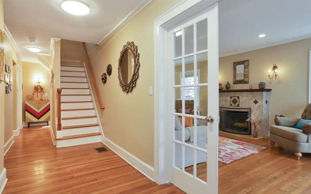 Transitional Interior Hallway