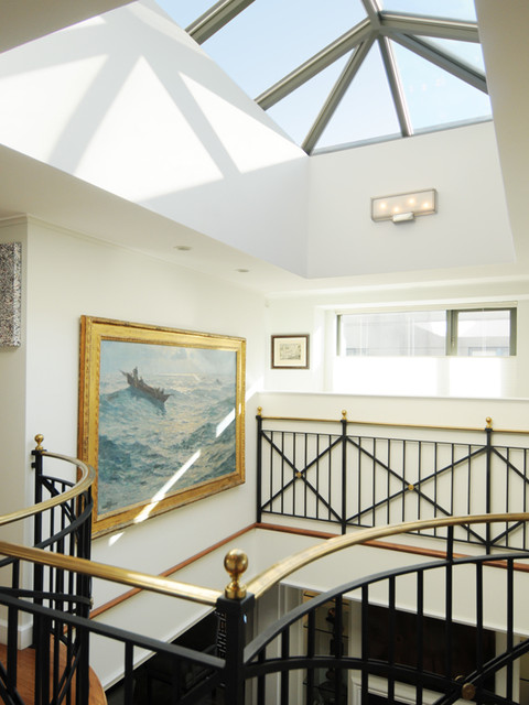 Tremont Street Penthouse contemporary-hall