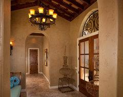 Tuscan Style Home by Jim Boles Custom Homes mediterranean-hall