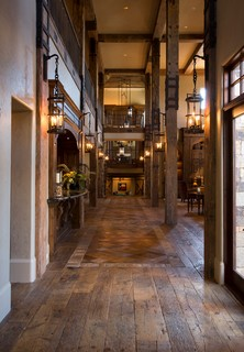 Tuscan Villa Traditional Hall Houston By Ellis