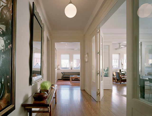 Upper west side apartment transitional hall new york for Upper west side apartments nyc