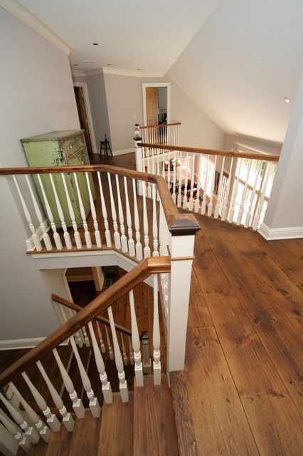 Upstairs Hall farmhouse-hall