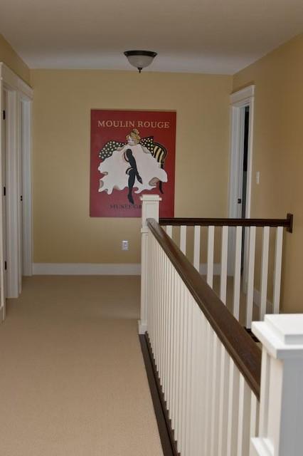 Upstairs Hallway craftsman-hall