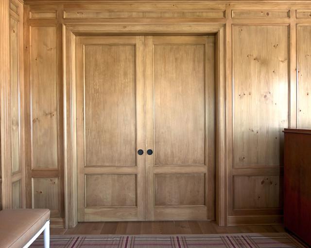 Upstate door custom interior doors traditional hall for Custom interior doors