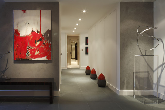 Urban Penthouse Hallway Modern Hall London By