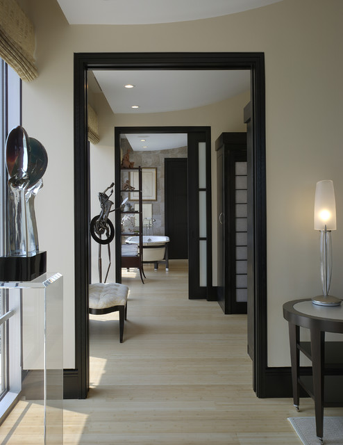 Foyer Hallway Urban Dictionary : Urban penthouse hallway modern hall atlanta by