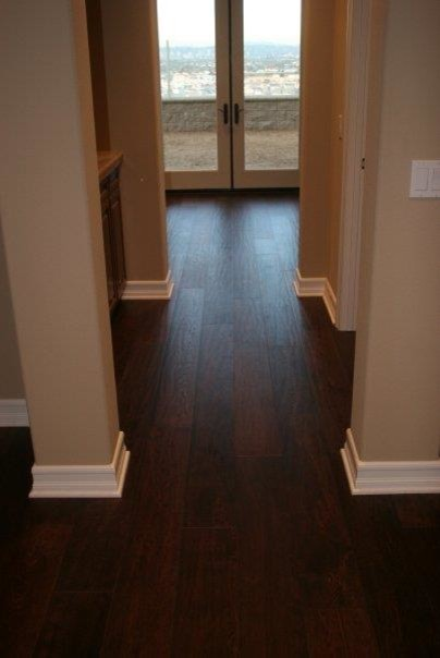 Various Wood Flooring Projects Traditional Hall