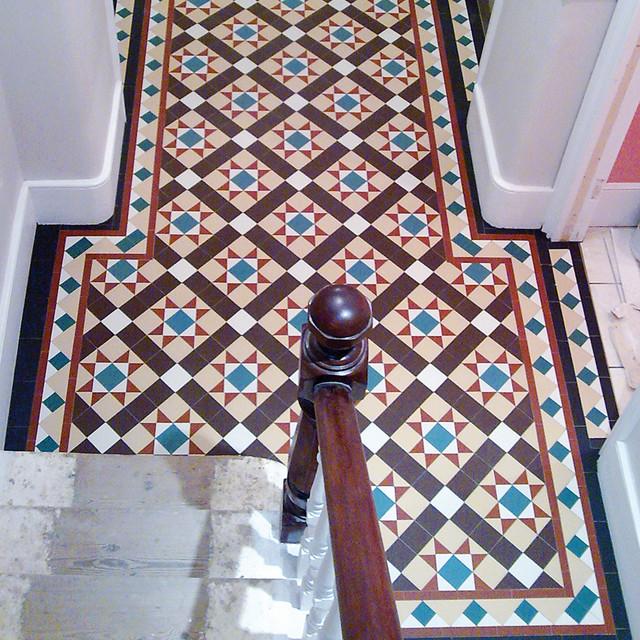 Victorian Geometric Flooring In Period Home British Colonial