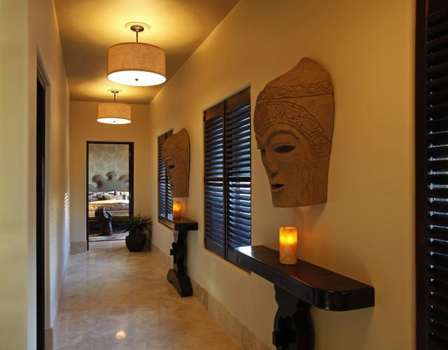 Villa Brisas Del Mar Tropical Hallway amp Landing