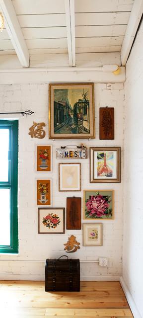 Vintage Renewal Loft eclectic-hall