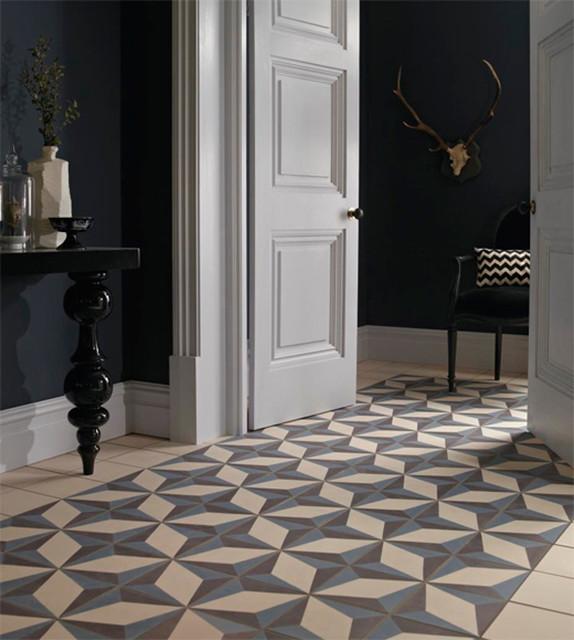 Vintage Tiles Www Luxurystyle Es Mediterranean Hall