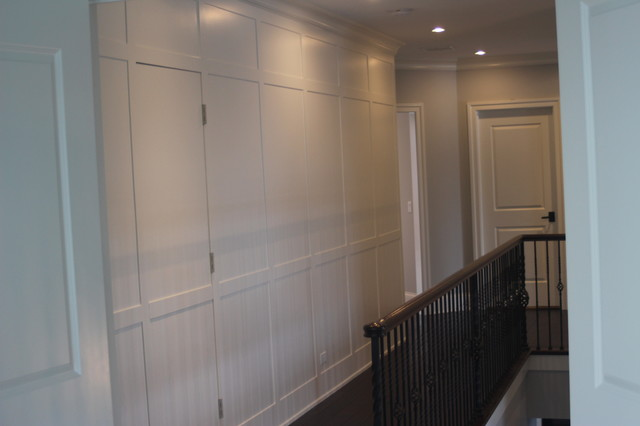 hidden door in wall panel wainscot wall with door 7028