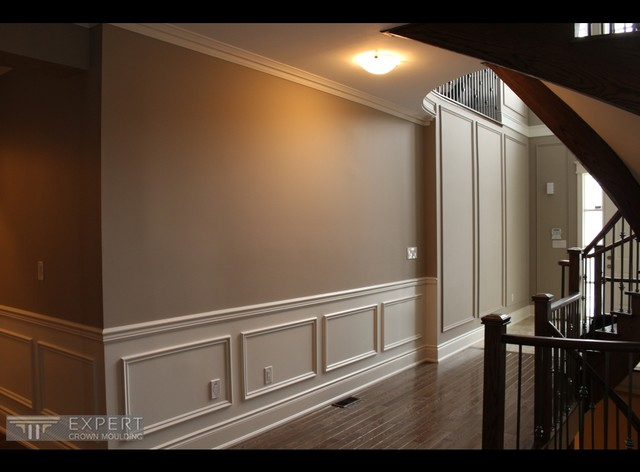 Wainscoting Project Traditional Hall Toronto By