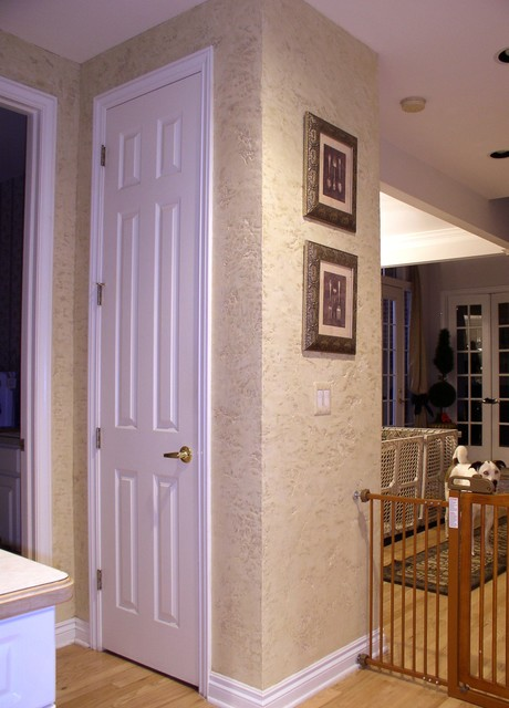 Wall Finishes traditional-hall