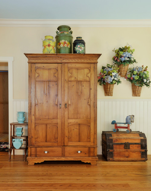 add storage with an armoire town country living