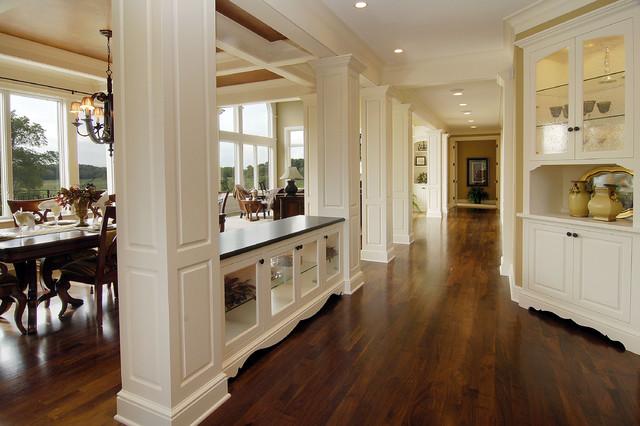 Walnut Floors - Traditional - Hall - Minneapolis - by John Kraemer & Sons