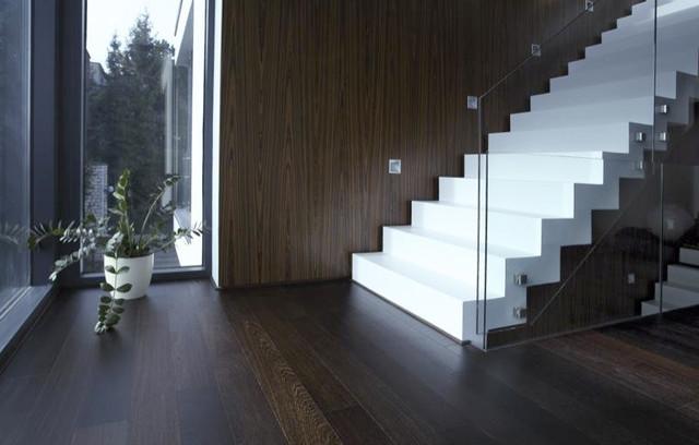 Wenge Flooring modern-hall