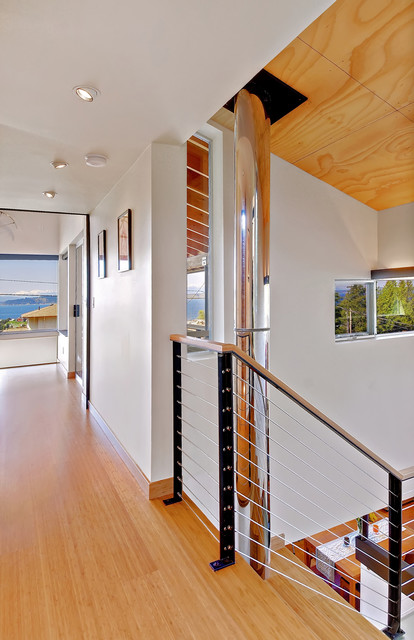 West Seattle Skybox Addition contemporary hall