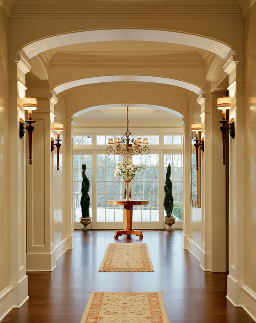 Westport country side home traditional hall new york for Latest arch designs