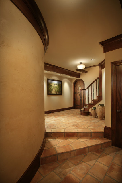 White Oaks Renovation traditional-hall