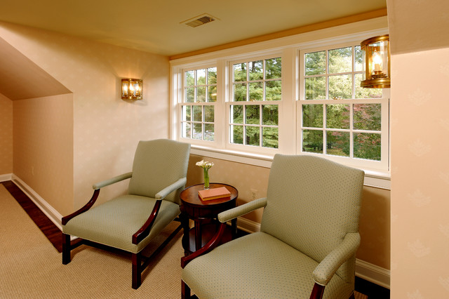 Whole House Renovation Project in Potomac, MD traditional-hall