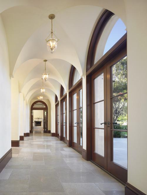 William Hefner Architecture Interiors & Landscape mediterranean hall