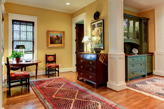 Wolford Built Homes traditional-hall