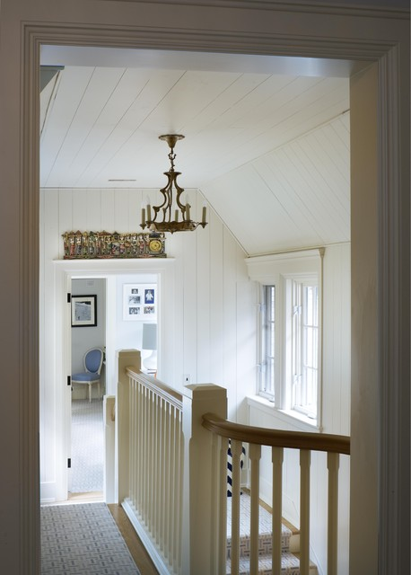 Wooden Stair traditional-hall