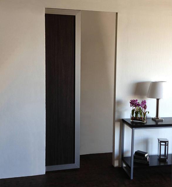 Modern pocket doors interior for Modern interior doors los angeles