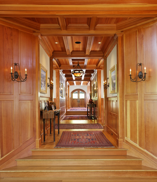 Woodland Point entry corridor traditional hall