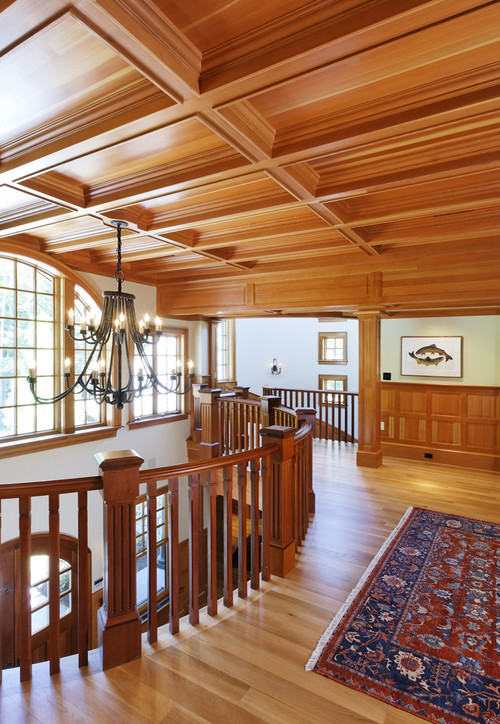 custom woodwork ceiling